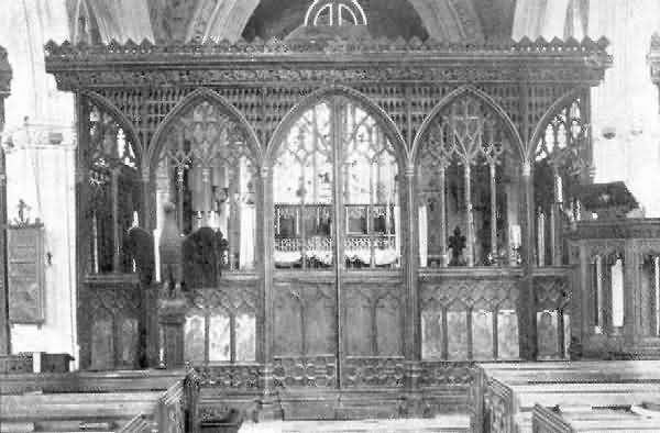 Powderham: Rood Screen