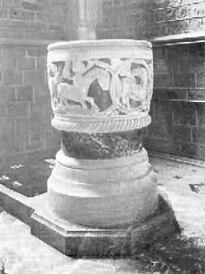 St. Mary Church: Font, 1