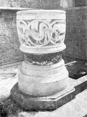 St. Mary Church: Font, 2