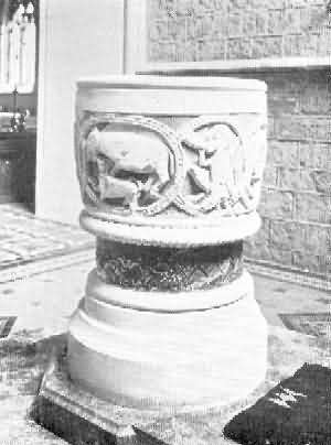 St. Mary Church: Font, 3