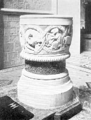 St. Mary Church: Font, 4