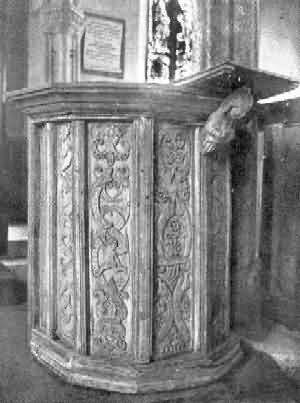 Sutcombe: Pulpit
