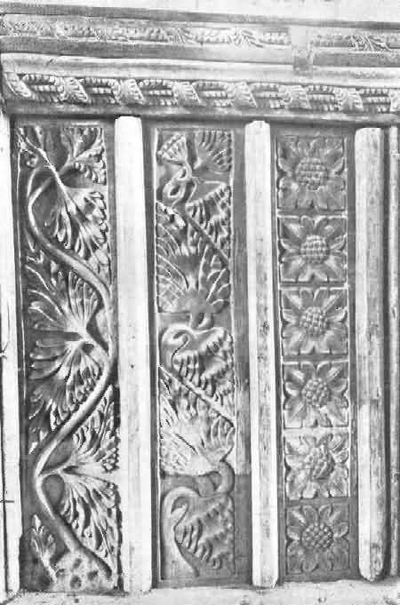 Sutcombe: Panels of Rood Screen, 1